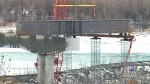 Girders arrive for North Commuter Parkway Bridge