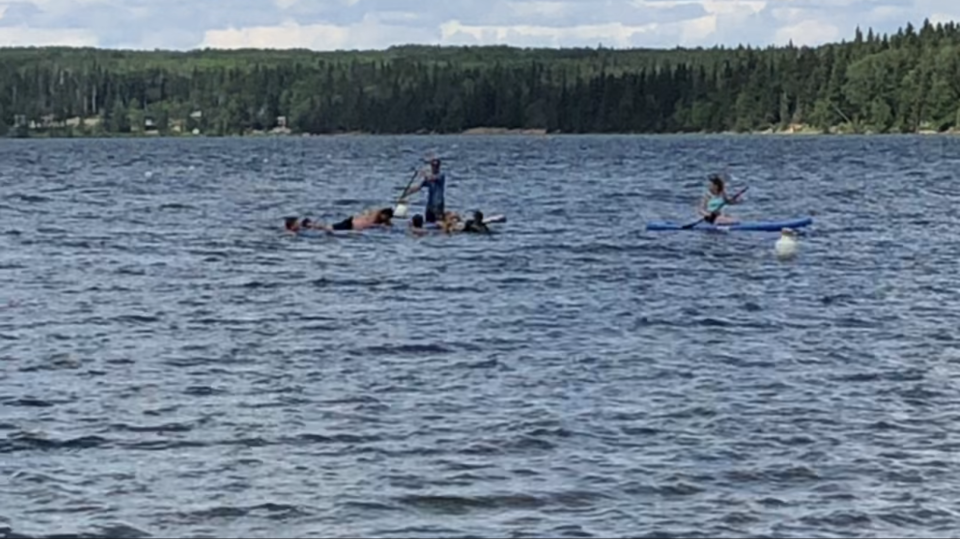 Waskesiu Lake rescue