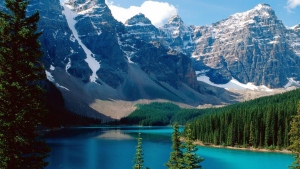 Alberta's Banff National Park is shown in this file photo.