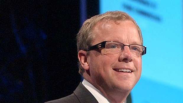 Saskatchewan Premier Brad Wall is seen in this undated file photo.